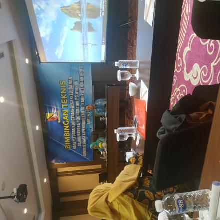 BIMTEK Bagi Petugas registrasi desa/kelurahan